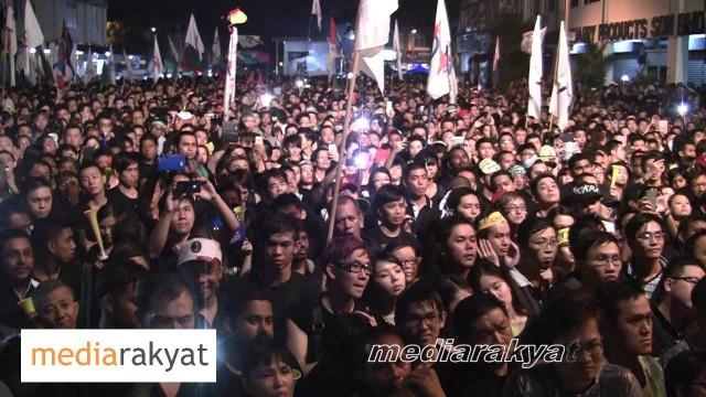 Anwar Ibrahim: Perhimpunan Blackout 505 Di Johor