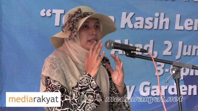 Nurul Izzah: Where Are The Policemen?