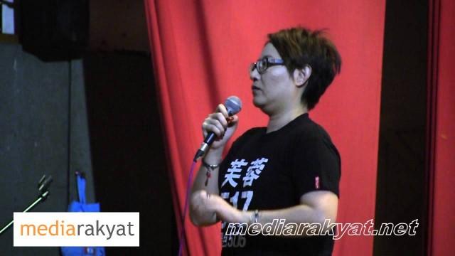 Elizabeth Wong: Yang UMNO Barisan Nasional Paling Takut Adalah Bila Rakyat Turun Ke Jalan Raya