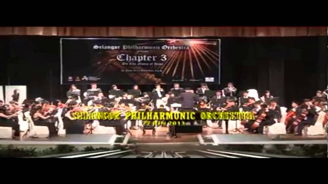 Selangor Philharmonic Orchestra (SPO) With Petaling Jaya City Council in 2013