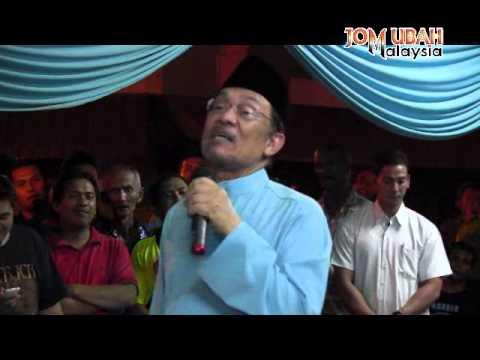 Ucapan Anwar Ibrahim di Majlis Rumah Terbuka PKR Perak