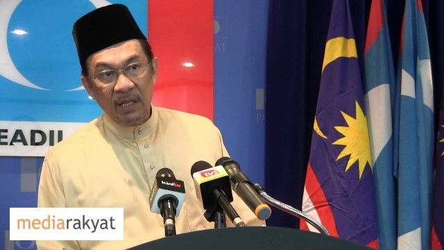 Anwar Ibrahim: Dialogue To Address National Issues, But Not Unity Govenment