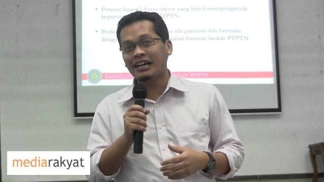 Nik Nazmi: Kajiselidik Keberhutangan PTPTN