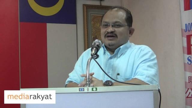 Shamsul Iskandar: Kita Tak Akan Berhenti, Kita Mesti Lawan