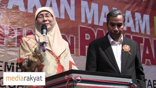 (1 Year Ago) Surat Cinta Anwar Ibrahim Kepada Dr Wan Azizah