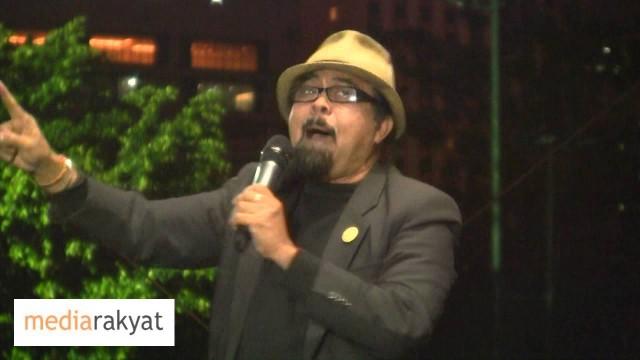 Hishamuddin Rais: Kerajaan Najib Adalah Kerajaan Haram Yang Dimenangi Dengan Cara Penipuaan