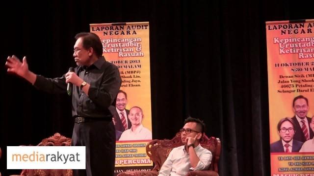Anwar Ibrahim: Yang Besar Sapu Submarine, Yang Tengah Sapu Lembu, Yang Bawah Sapu Jam