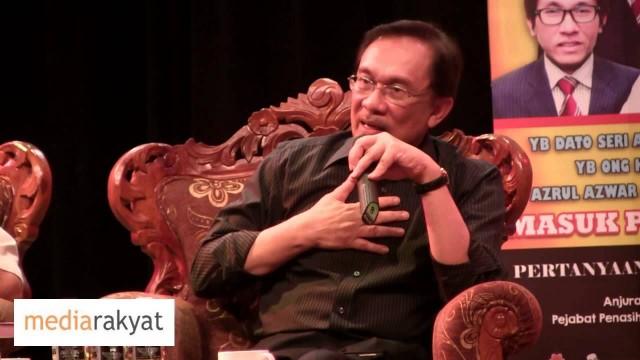 Anwar Ibrahim: Work Hard! Bagi Setengah Jam Sehari, Sebarkan Sedaya Upaya Kita
