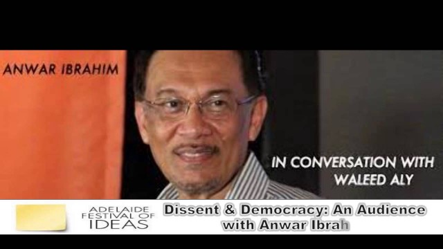 (Adelaide) Anwar Ibrahim: Our Students Should Not Be Intimidated