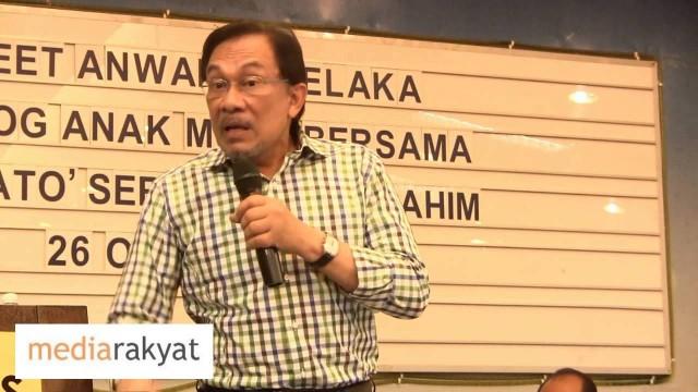(AIC) Anwar Ibrahim: GST Hanya Diperkenankan Bila Tahap Pendapatan Meningkat Di Malaysia
