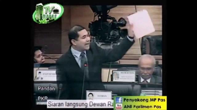 "Perang ""Usul"" Di Parlimen – Rafizi Ramli vs MPs Barisan Nasional"