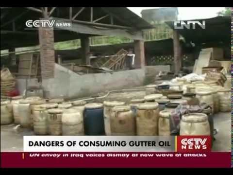 Dangers Of Consuming Gutter Oil