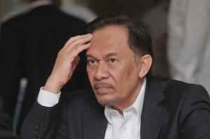 Anwar protest against deportation from Tokyo