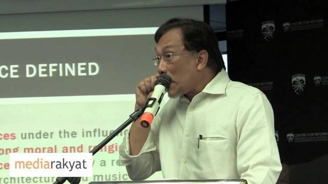Anwar Ibrahim: Mengunakan Agama Untuk Maksud Politik, Manakutkan Orang, Bertindak Ganas