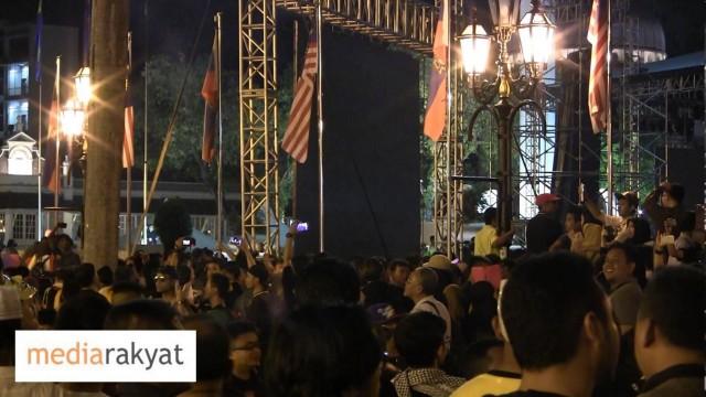 (Himpunan Turun) Ucapan Tahun Baru Datuk Bandar DBKL Kena Boo