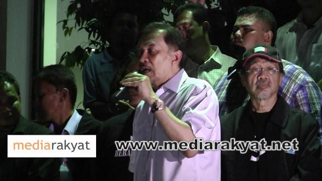 Anwar Ibrahim: Ceramah At Kg Baru On Eve Of 901 Rally (Part 2/3)