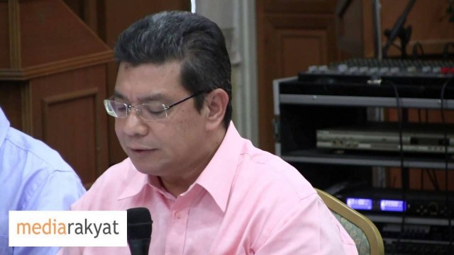 Saifuddin Abdulah: We Need A New EC Chairman Who Does Not Say Things On Behalf Of BN