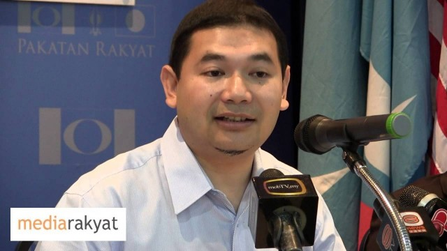 Rafizi Ramli: Water Issue Used By BN As Political Ammunition Against Pakatan Rakyat