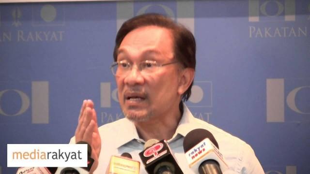 Anwar Ibrahim: Pakatan Rakyat Telah Buat Kenyataan Yang Cukup Tegas & Jelas Dalam Isu Allah