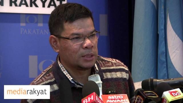 Saifuddin Nasution: MPP Keadilan Tidak Membuat Keputusan Mengganti MB Selangor