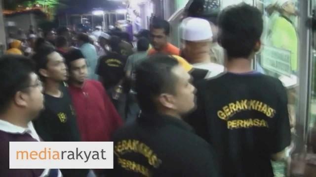 Kejadian Serangan Oleh Perkasa Di Masjid (Termasuk Kejadian Didalam Masjid)