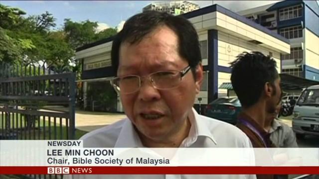 BBC World News: Malaysia bible raid divides Muslims & Christians