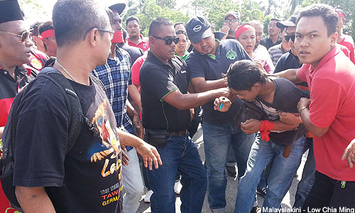 Lee Khai Loon: Umno's violent response to 'kangkung' issue disgraceful