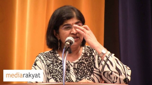 Ambiga Sreenevasan: They Create Fear, We Must Response With Courage, When They Divide, We Must Unite