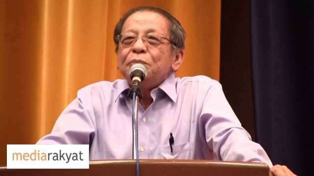 Lim Kit Siang: It's Time For Moderates In Malaysia To Make A Stand