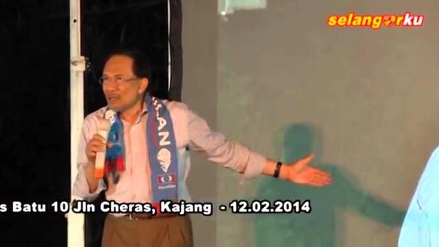 Anwar Ibrahim: Mahathir Saya Pun Tak Takut, Saya Takut Pada Shafee?