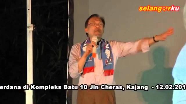 Anwar Ibrahim: Isu Pokok Ialah Isu Tekanan Hidup Pendapatan Tak Meningkat, Harga Barang Meningkat