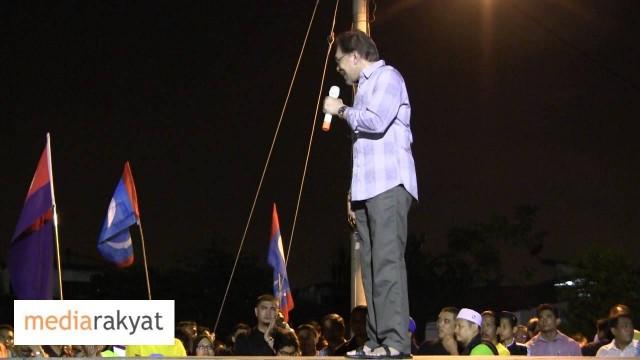 Anwar Ibrahim: Kita Lawan Bukan MCA, Kita Lawan UMNO