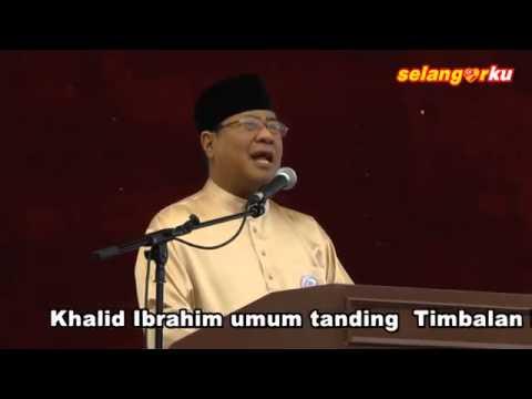 Khalid Ibrahim Umum Tanding Timbalan Presiden Keadilan
