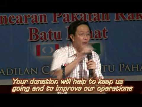 (福建话)Teng Chang Khim 邓章钦 : 要等到有补选才有机会拿到公民权