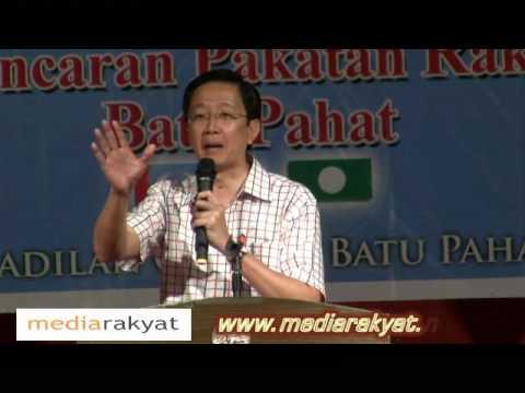 (福建话)Teng Chang Khim 邓章钦 : 到了2020年,马来西亚将会是先进的破产国还是破产的先进国?
