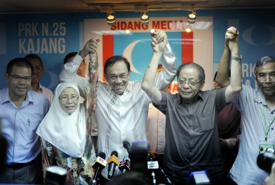 Wan Azizah ganti Anwar bertanding PRK Kajang