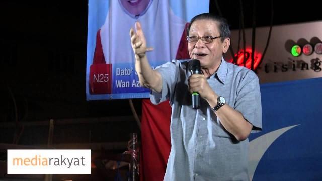 Lim Kit Siang 林吉祥 : 我们要去布城换政府, 由加影开始