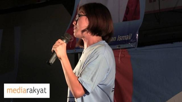 Gan Pei Nei 颜贝倪: 旺阿兹莎是一位永远与人民站在一起的政治领袖