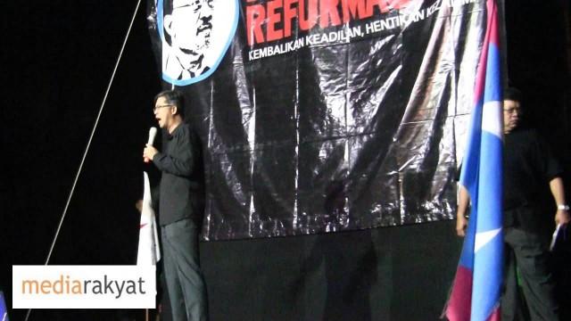 Tian Chua: Rakyat Harus Bangkit Jadi Hakim, Bangkit Untuk Menentukan Arah Tuju Masa Depan