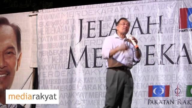 (Countdown To 505) Anwar Ibrahim: Ceramah MerdekaRakyat Di Paya Besar Pahang