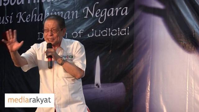 Lim Kit Siang 林吉祥:加影的选民有机会做包青天,为安华翻案