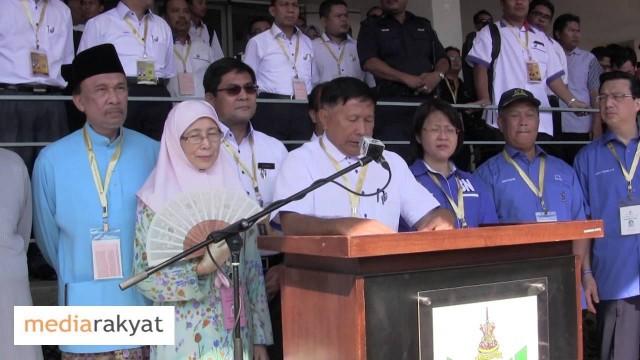 Calon Untuk PRK Dun Kajang: Dr Wan Azizah vs Chew Mei Fun