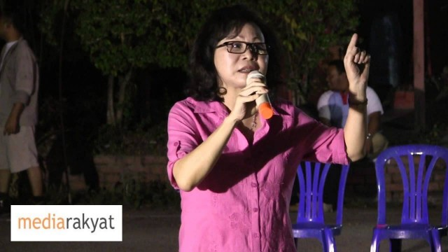 Tan Yee Kew 陈仪乔: 旺阿茲莎將会带领全马人民,从加影出发,走向布城