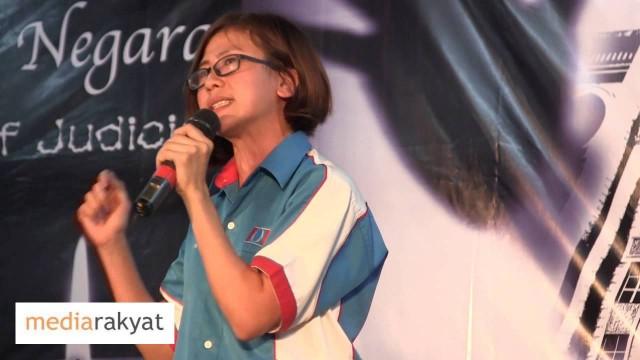 Gan Pei Nei 颜贝倪: 美芬是代表巫统这个种族极端的组织来参选