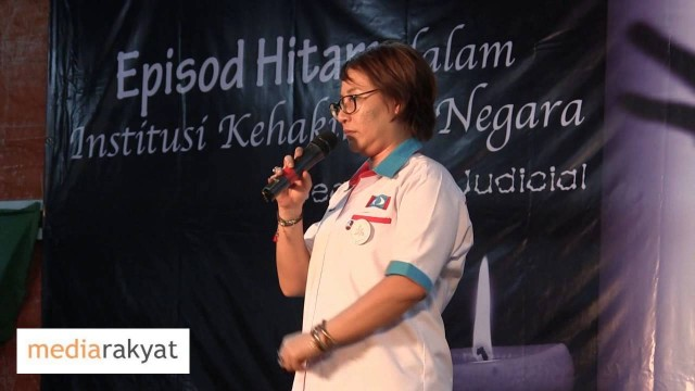 Elizabeth Wong 黄洁冰: 旺阿茲莎敦促我们把眼泪搽干,继续我们的斗争