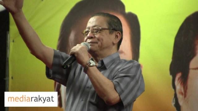 Lim Kit Siang: Kita Nak Menyelamatkan Sistem Kehakiman Negara
