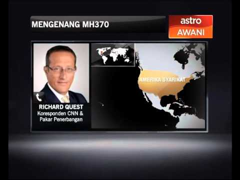 (Awani) CNN Aviation Analyst: Malaysian Authorities Are Perceived To Lack Transparency In The Way It Handled The MH370 Crisis