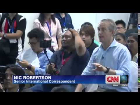 Malaysian Defence Minister Evades Questions From CNN Correspondent On MH370
