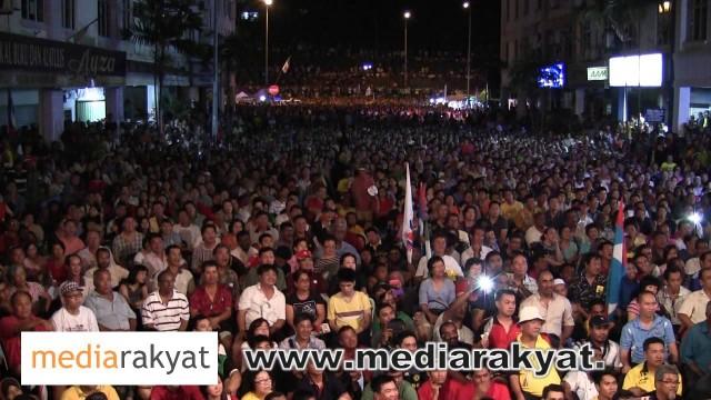 (Countdown To 505) 30/04/13 Anwar Ibrahim: Daim, Rakyat Mahu Kau Serah Balik Wang Billion Ringgit Yang Rompak Kepada Rakyat