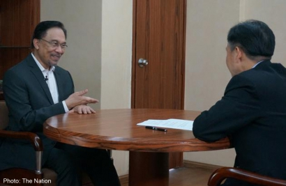 (The Nation) Anwar Ibrahim: Najib Government Was Behind The Decision Of US President Not To See Me
